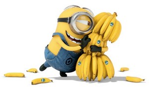 minion loves banana